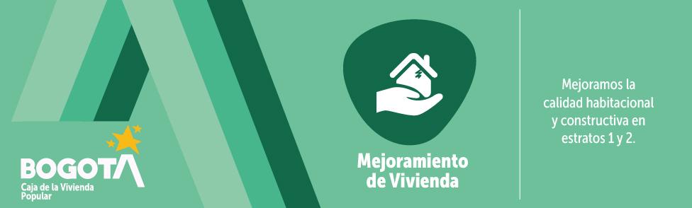 Bienvenidos a la Misional de Mejoramiento de Vivienda