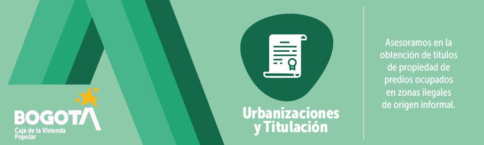 Bienvenidos a la Misional de Urbanizaciones y Titulación