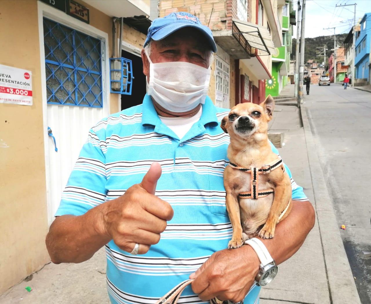Luis Moreno, 25 años trabajando por el barrio San Martín de Loba en San Cristóbal