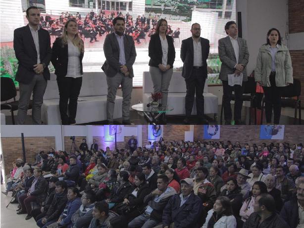 La CVP rindió cuentas ante más de 400 beneficiarios
