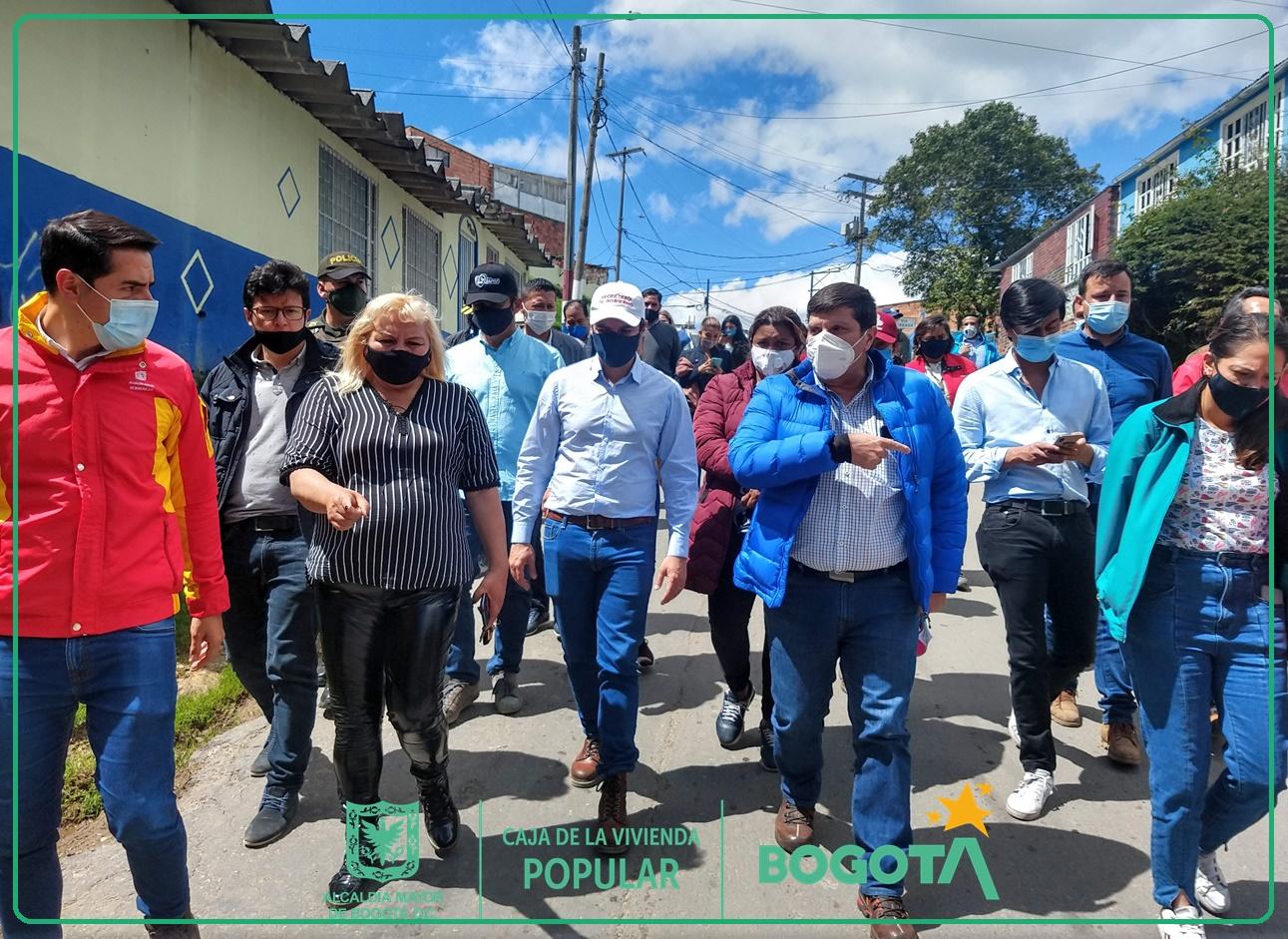 La CVP está del lado de la gente con la intervención en Alto Fucha - San Cristóbal