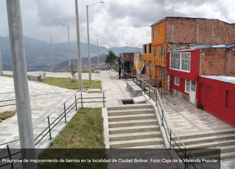 Obras en Usaquén y Mirador Illimaní, grandes intervenciones de la CVP este año
