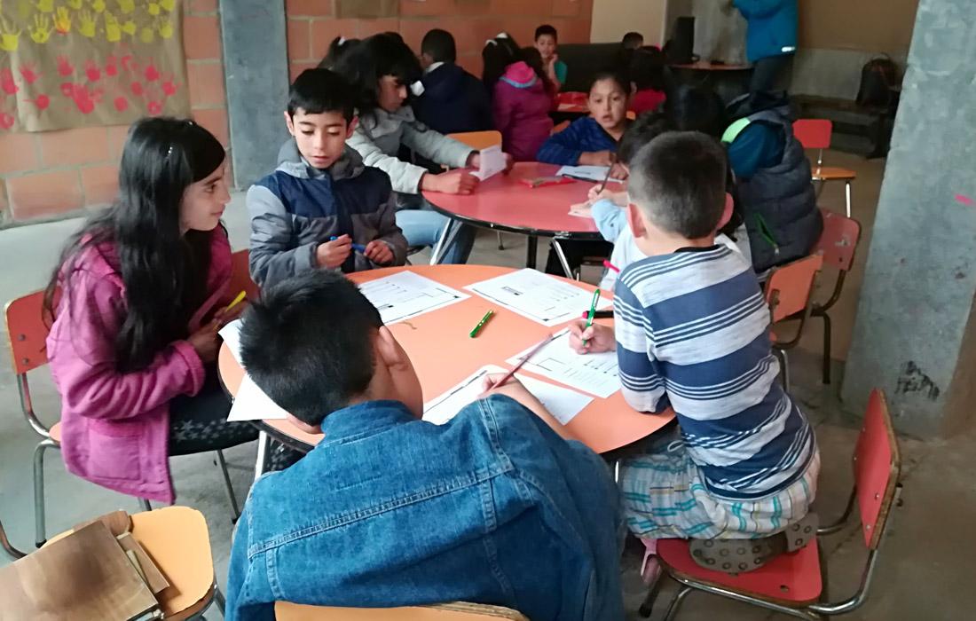Niñez de la CVP se formó en participación ciudadana
