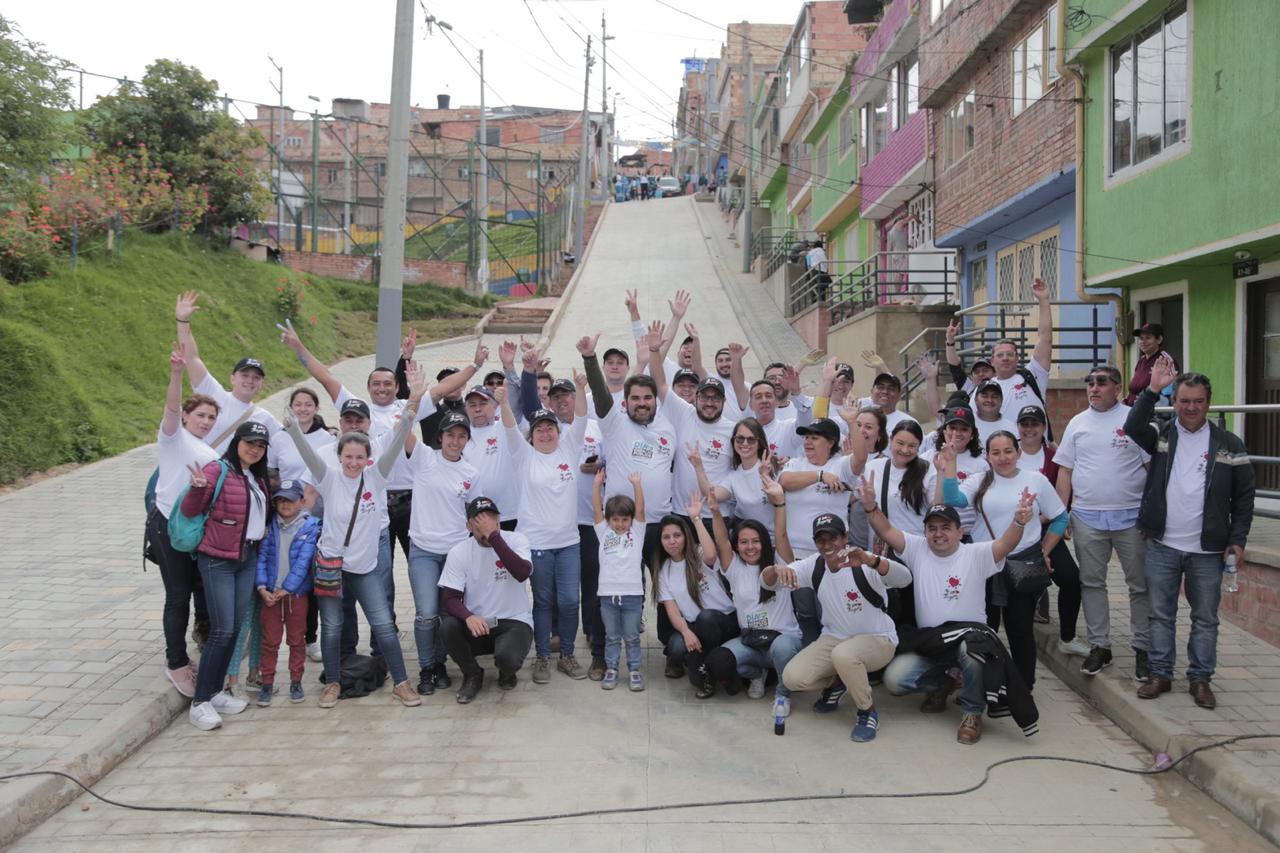San Cristóbal, embellecido en el Día del Espacio Público