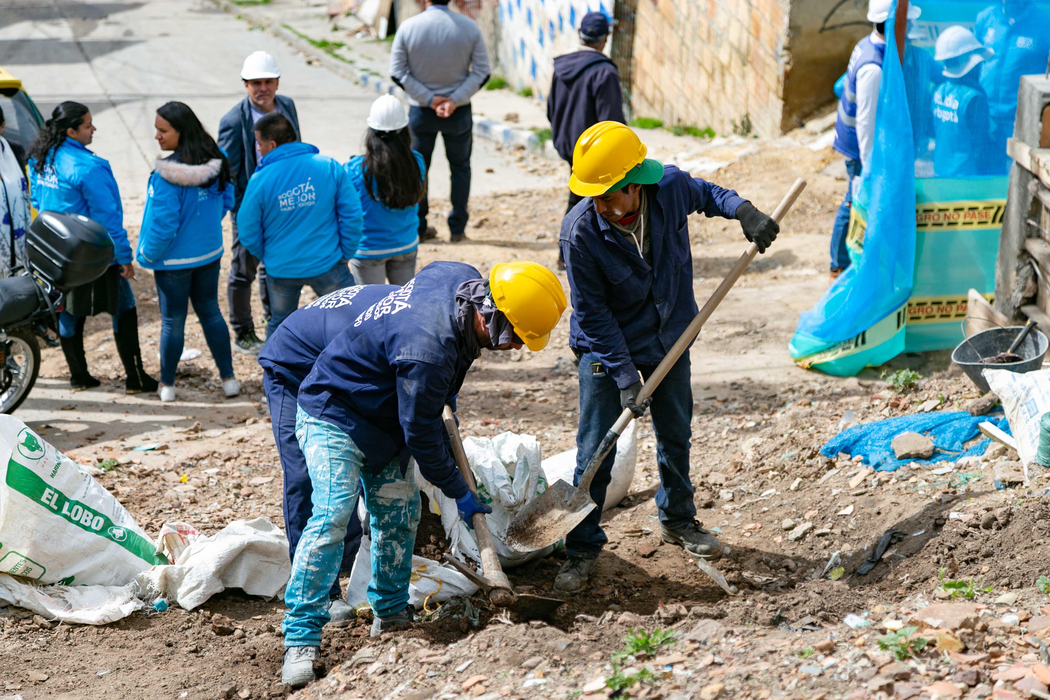 Así avanzan las obras de la CVP en San Martín de Loba