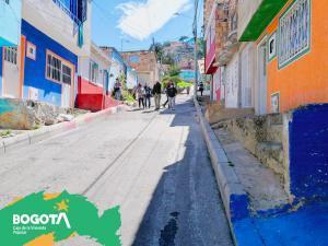 En el Barrio San Felipe de localidad de Usme, primeros beneficiarios del Plan Terrazas