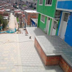 90 barrios de estratos uno y dos  mejoraron su espacio público gracias a la  Mejor Bogotá