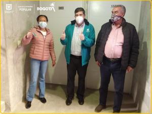 Gracias al trabajo de la Dirección de Reasentamientos Humanos de la Caja de Vivienda Popular, familias que vivían en zonas de alto riesgo no mitigable en la localidades de San Cristóbal, Usme Y Ciudad Bolívar (Caracolí) tienen un nuevo hogar.