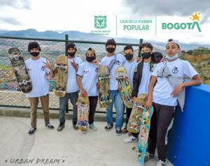 El sector Hábitat y los jóvenes de Ciudad Bolívar, comprometidos en cuidar sus obras.