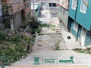 Obras de Mejoramientos de Barrios en la vigencia 2021