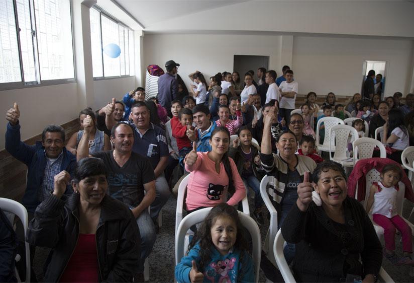 Iniciamos la entrega de espacios de participación a los bogotanos