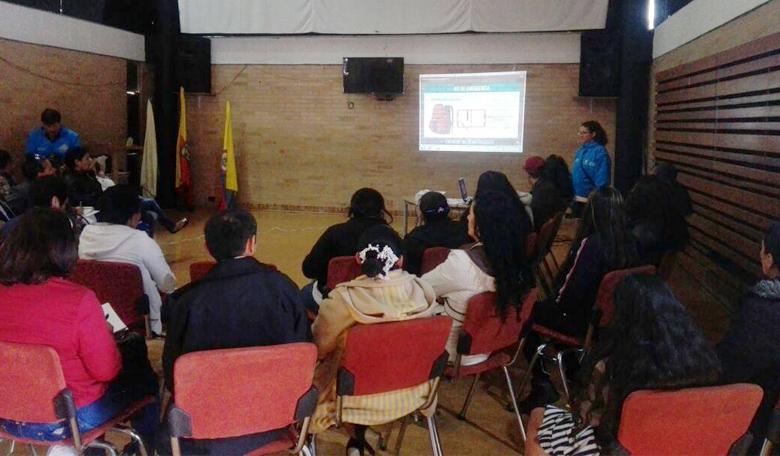 La actividad estuvo dirigida a la Red de Consejos Comunales de los proyectos de vivienda de la entidad.