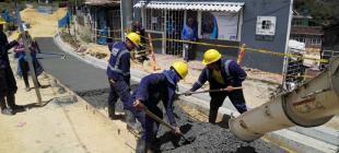 Dirección de Mejoramiento de Barrios - ¡Trabajamos a toda marcha!