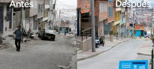 Vecinos de Tres Reyes disfrutan de nuevas vías